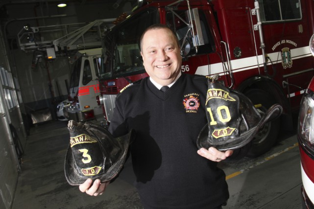 Le directeur du Service de sécurité incendie de... (photo Janick Marois)