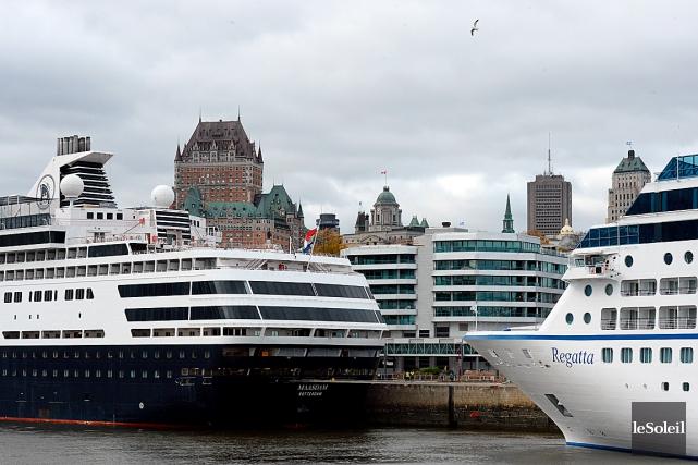 L'automne est une saison surchargée pour le Port... (Photothèque Le Soleil, Erick Labbé)