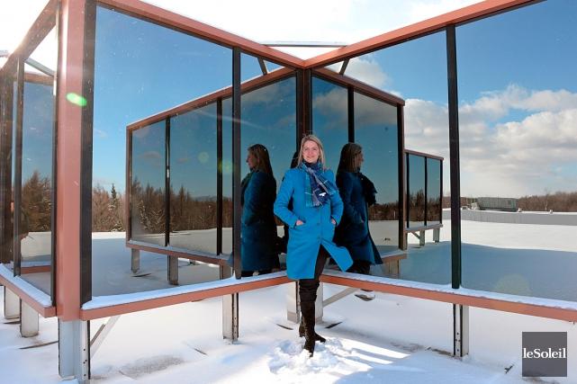 La directrice générale du Parc technologique du Québec... (Le Soleil, Erick Labbé)