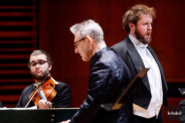 Le concert a été dirigé de main de... (Photo Le Soleil, Jean-Marie Villeneuve)