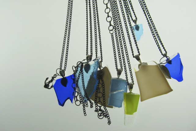 Voici des colliers originaux... (Photo fournie par La Méduse)