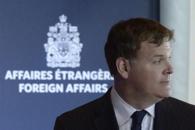 Le ministre des Affaires étrangères John Baird.... (PHOTO SEAN KILPATRICK, ARCHIVES LA PRESSE CANADIENNE)