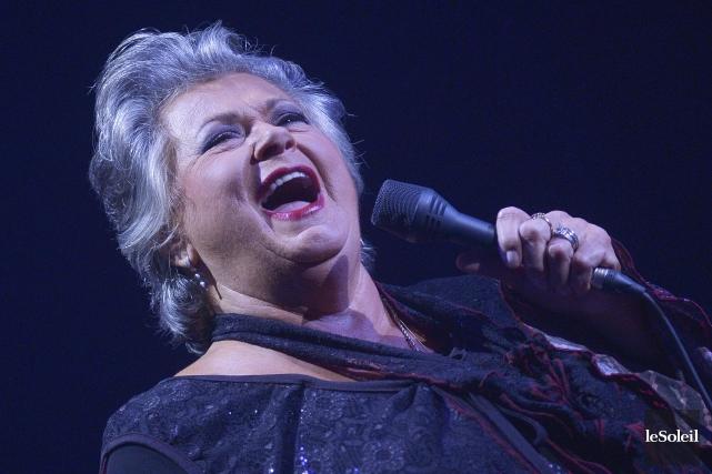 Même s'il s'agit d'un concert de Noël, Ginette... (Photo Le Soleil, Jean-Marie Villeneuve)