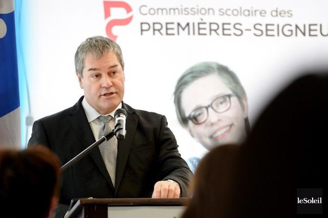 Le ministre de l'Éducation, Yves Bolduc.... (PHOTO ANDRÉANNE LEMIRE, ARCHIVES LE SOLEIL)
