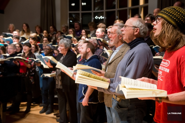 Les University Singers, désormais dirigés par Fannie Gaudette,... (IMACOM, Jessica Garneau)