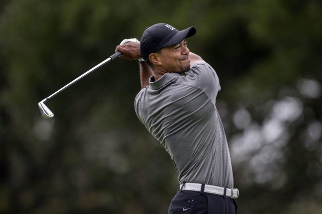 Tiger Woods... (PHOTO WILLIE J. ALLEN JR., AP)