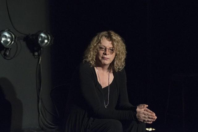 Le récit de Michelle Blanc est poignant... parce... (Photo fournie par La Licorne)