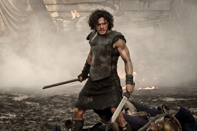 L'acteur Kit Harington dans une scène de Pompéi.... (Photo fournie par Tristar Pictures)