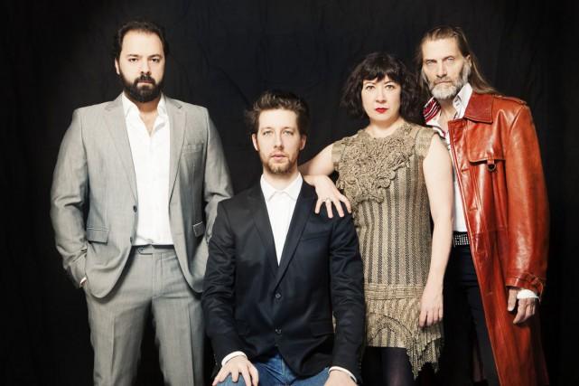 Mani Soleymanlou, Emmanuel Schwartz, Marie Brassard et Benoît... (Courtoisie)