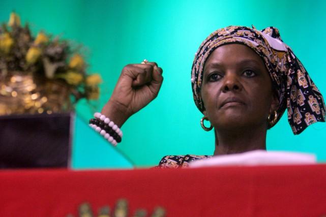 En devenant présidente de la puissante Ligue féminine,... (PHOTO JEKESAI NJIKIZANA, AFP)