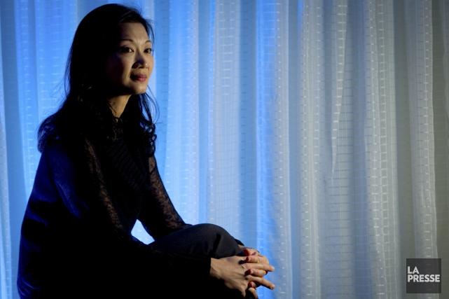 Mari Kodama est née au Japon, mais elle... (Photo Olivier Jean, La Presse)