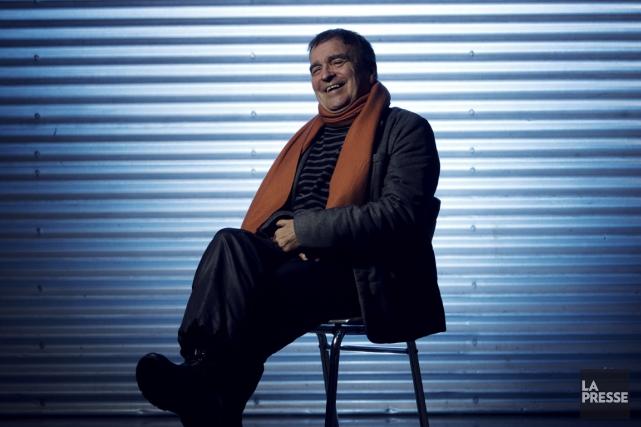 En ce moment, René Dupéré compose la musique... (Photo Olivier Jean, La Presse)