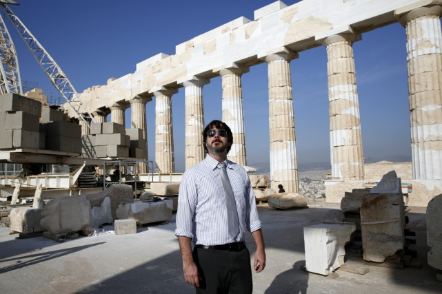 L'archéologue et conservateur de l'expo Les Grecs -... (Photo Giorgos Moutafis, fournie par le Musée Canadien de l'Histoire.)
