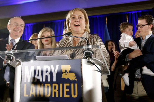 Mary Landrieu, élue en 1997, a rapidement reconnu... (Photo Jonathan Bachman, Reuters)