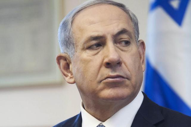 Le premier ministre israélien Benyamin Nétanyahou... (Photo Dan Balilty, Reuters)