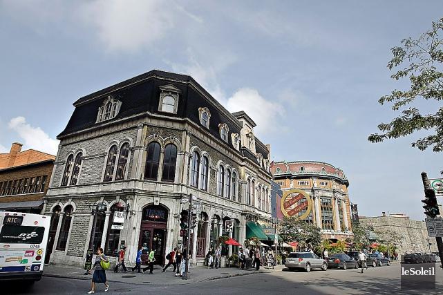 Le bâtiment qui devait accueillir Le Diamant.... (Photothèque Le Soleil, Pascal Ratthé)