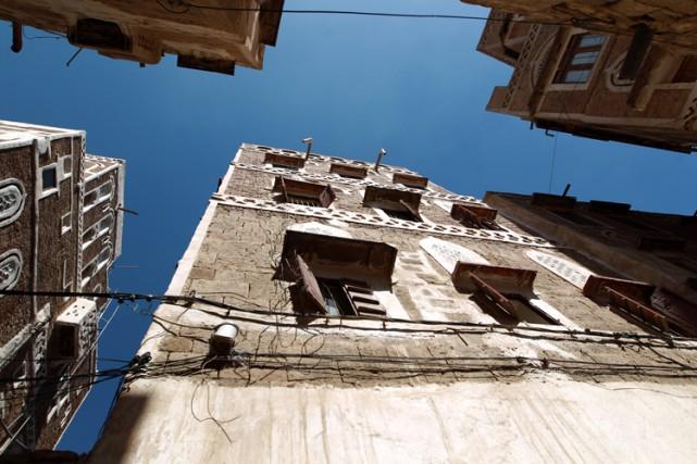 Le photojournalisteaméricain Luke Somers résidait dans cet édifice... (Photo: AFP)