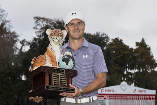 JordanSpieth complète sa deuxième année complète en tant... (Photo: AP)