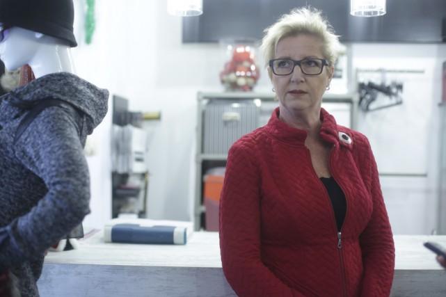Pour Sandra Martin, propriétaire de la boutique Vision... (photo Catherine Trudeau)