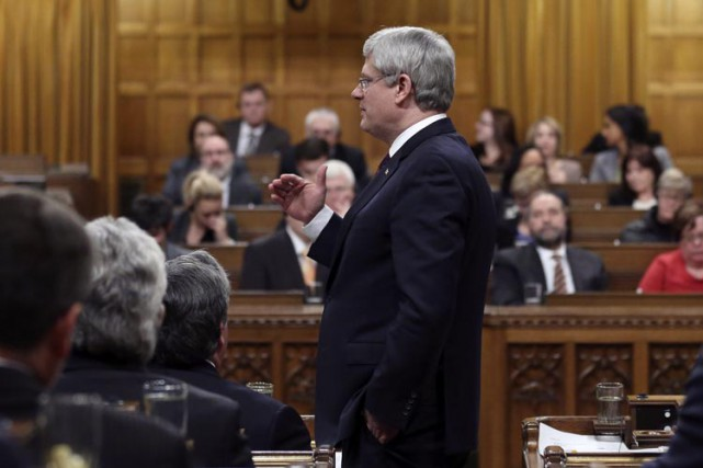 Les partis de l'opposition soutiennent que Stephen Harper... (PHOTO REUTERS)