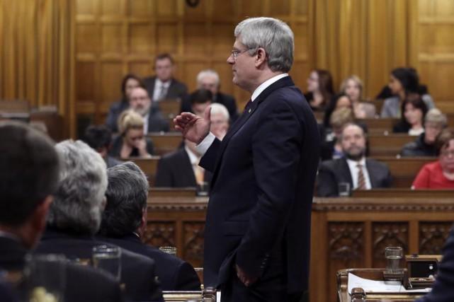 Les partis de l'opposition soutiennent que Stephen Harper... (PHOTO REUTERS)