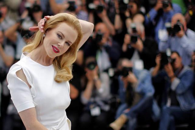Nicole Kidman au Festival de Cannes en mai... (Photo: AFP)