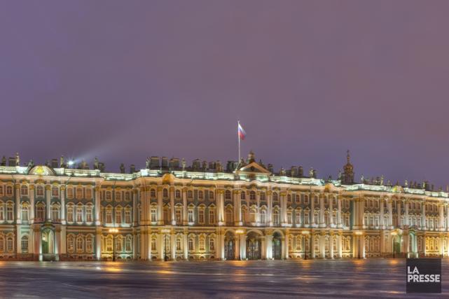 Situé à Saint-Pétersbourg, le musée d'État de l'Ermitage... (PHOTO ARCHIVES LA PRESSE)