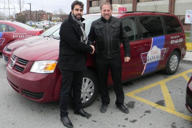 LaFondation SantéGatineaua conclu un partenariat avec Taxi Loyal en leur... (Courtoisie)
