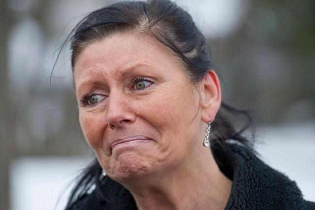 Encore aujourd'hui harcelée par son ex-mari, Maureen Fisher... (Martin Roy, LeDroit)