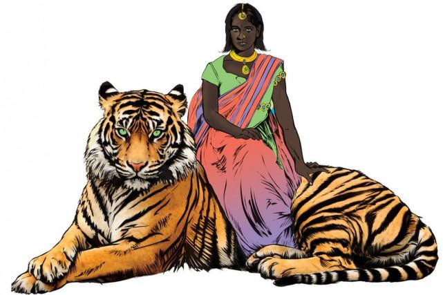 Priya, qui a survécu à un viol collectif,... (IMAGE BBC)