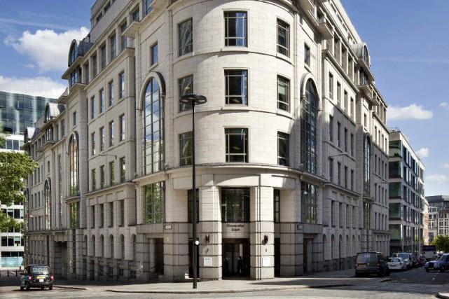 L'immeuble à bureaux Hines Global REIT à Londresest... (Photo fournie par Ivanhoé Cambridge)