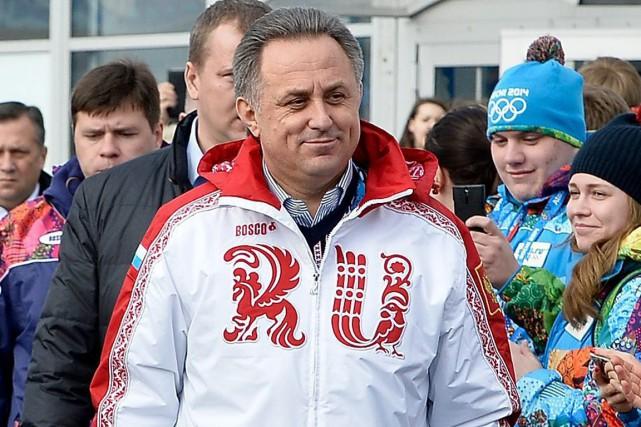 Le ministre russe des Sports, Vitaly Mutko.... (Photo Pascal Le Segretain, archives AP)