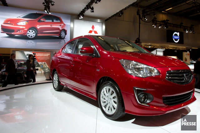Avec la G4, Mitsubishi Canada voulait sonder l'opinion... (Photo Olivier Jean, La Presse)