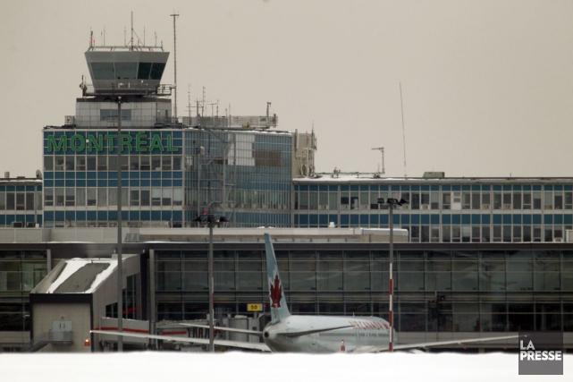 Nejib Belhaj-Chtioui a été arrêté à l'aéroport Montréal-Trudeau... (PHOTO MARTIN CHAMBERLAND, ARCHIVES LA PRESSE)
