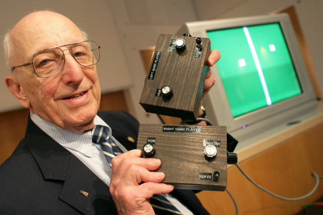 Ralph Baer... (Photo Jens Wolf, archives AP)