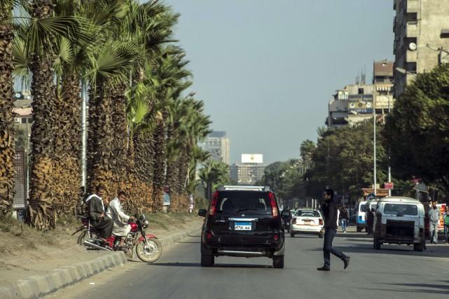 Trente-trois hommes ont été arrêtés au Caire pour... (PHOTO KHALED DESOUKI, ARCHIVES AFP)