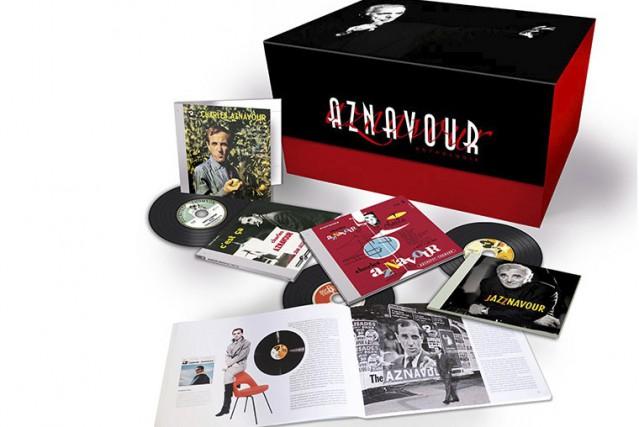 Un coffret Charles Aznavour substantiel......