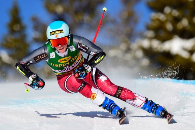 Marie-Michèle Gagnonoccupe le septième rang mondial en slalom.... (Photo Frank Gunn, PC)