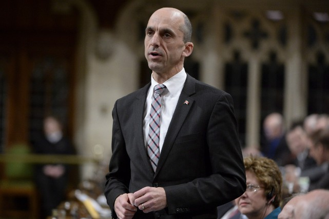 Le ministre de la Sécurité publique, Steven Blaney,... (Photo La Presse Canadienne)