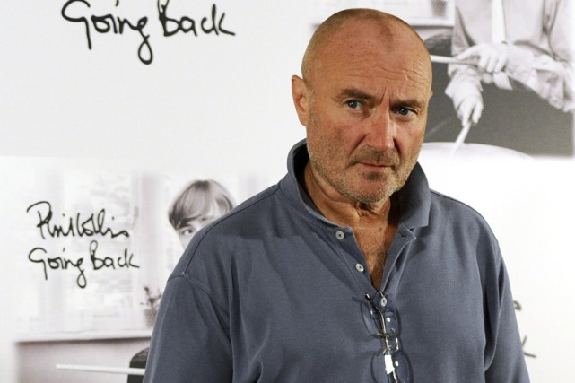 Phil Collins... (PHOTO: AFP)