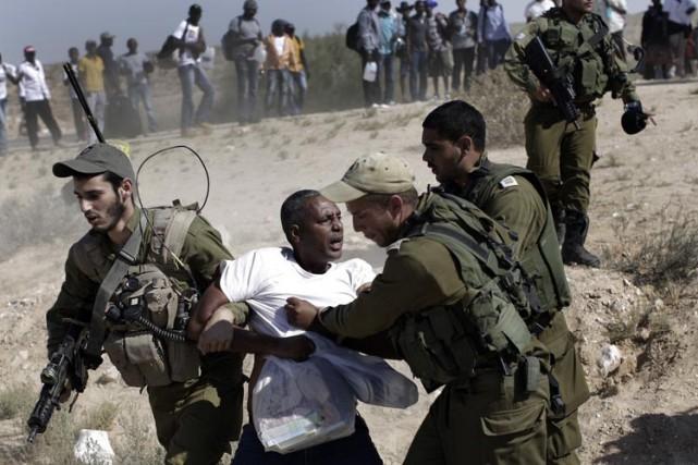 Selon les chiffres officiels israéliens, 48 000 Africains... (Photo: AP)