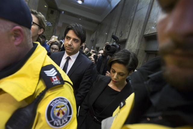 Jian Ghomeshi a comparu en cour le 26... (Photo: Reuters)