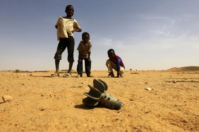 Au Soudan du Sud cette année, 600 enfants... (Photo: Reuters)