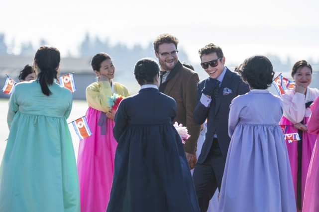 The Interview, qui met en scène Seth Rogen... (Sony Pictures)