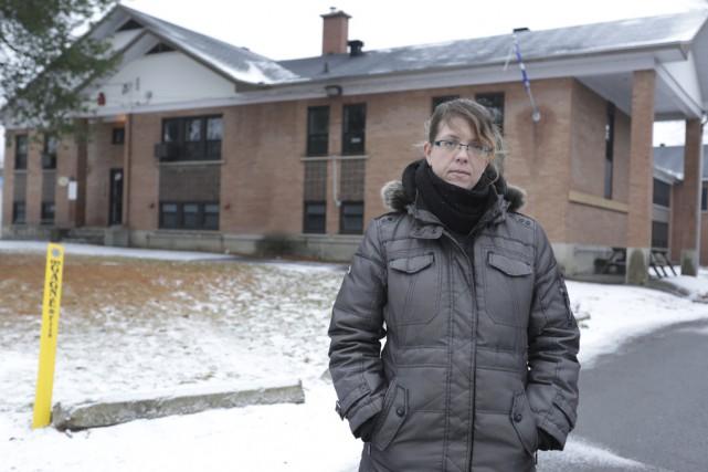 Mélanie St-Pierre dénonce l'idée que des élèves du... (photo Catherine Trudeau)