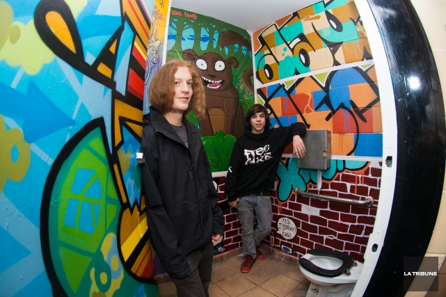 Yannick Brochu-GauthieretBenjamin Brochusont deux des artistes qui ont... (Imacom, Jessica Garneau)