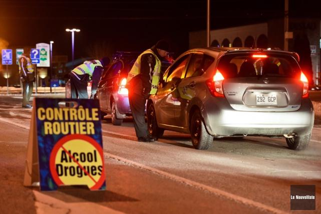 La Sûreté du Québec pointe ses différents programmes... (Photothèque Le Nouvelliste)