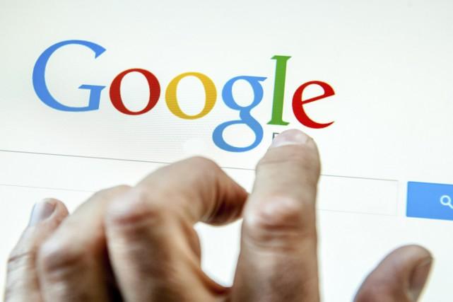 Le géant internet américain Google s'apprête à modifier les algorithmes de son... (PHOTO PHILIPPE HUGUEN, ARCHIVES AFP)