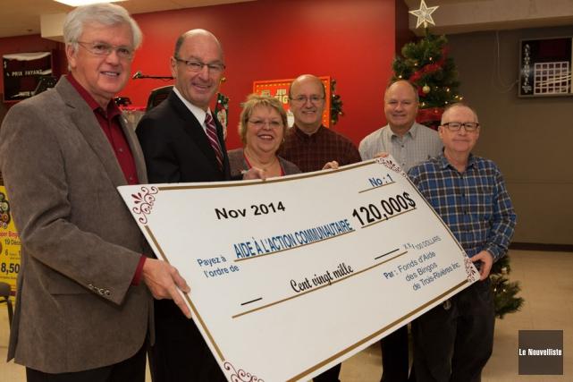 Le Fonds d'aide des bingos de Trois-Rivières a... (Photo: Olivier Croteau, Le Nouvelliste)
