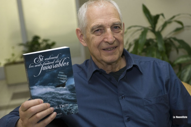 L'écrivain trifluvien Claude Dion a mis du temps... (Photo: Stéphane Lessard, Le Nouvelliste)